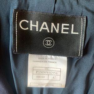 CHANEL Jackets & Coats - CHANEL navy blue blazer jacket